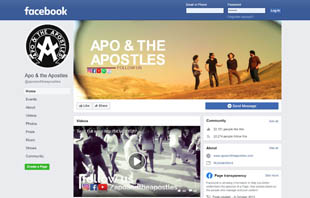 Apo and the Apostles on Facebook